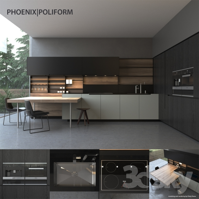 Superieur Kitchen Poliform Varenna Phoenix