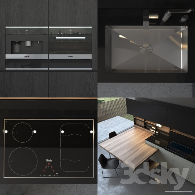 3d Models Kitchen