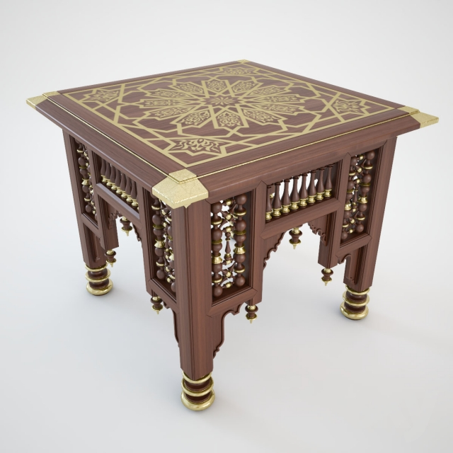3d models table egyptian table. Black Bedroom Furniture Sets. Home Design Ideas