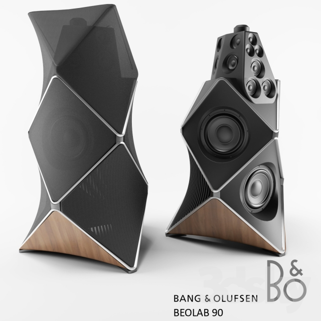 3d models: Audio tech - Bang & Olufsen