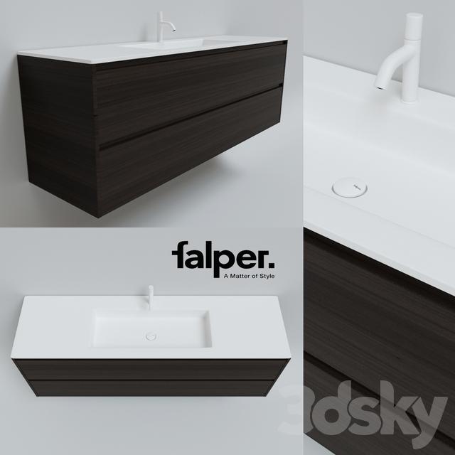 Sink Falper Flat pedestal Falper Viaveneto
