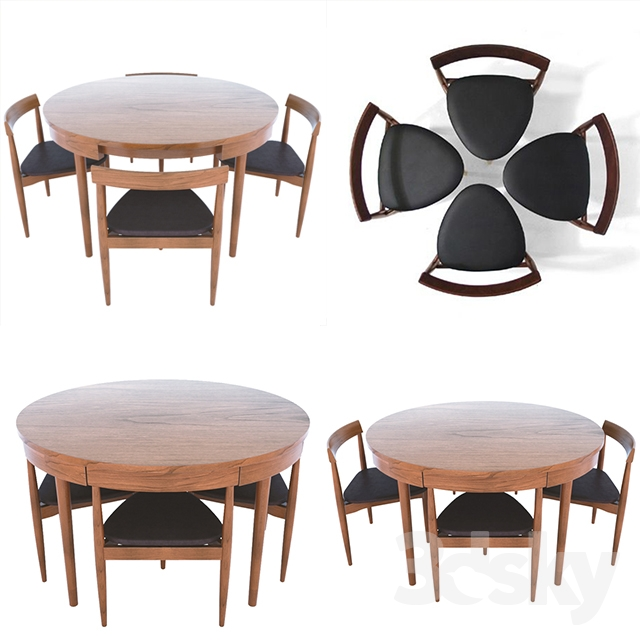 Hans Compact Dining Set