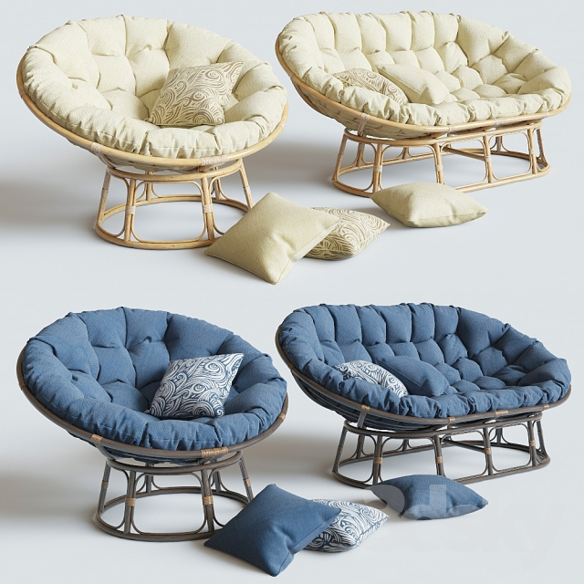 Armchair Papasan Sofa Mamasan