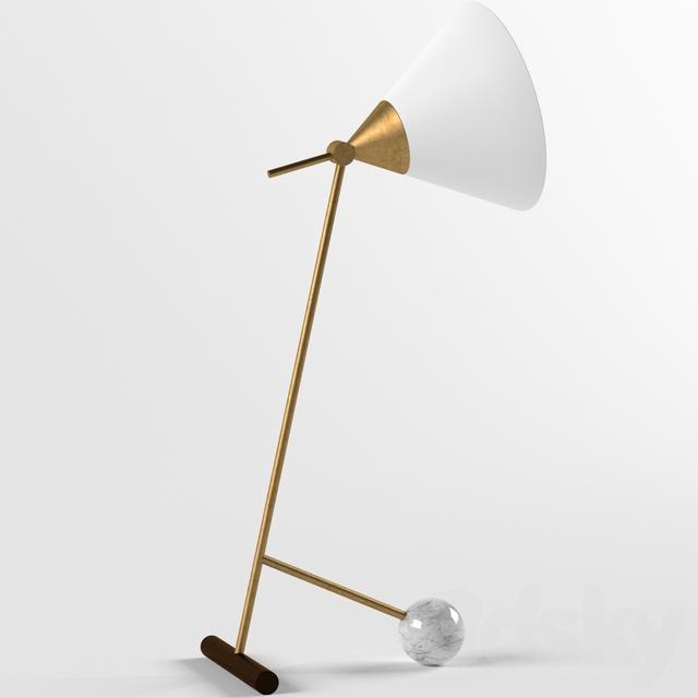 3d Models Table Lamp Cleo Table Lamp Kelly Wearstler