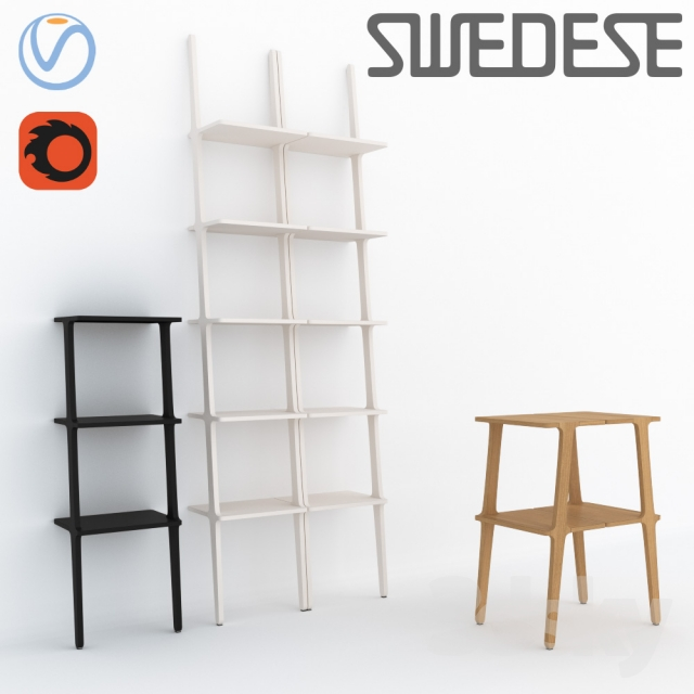 3d models Other Swedese Libri Bookshelves