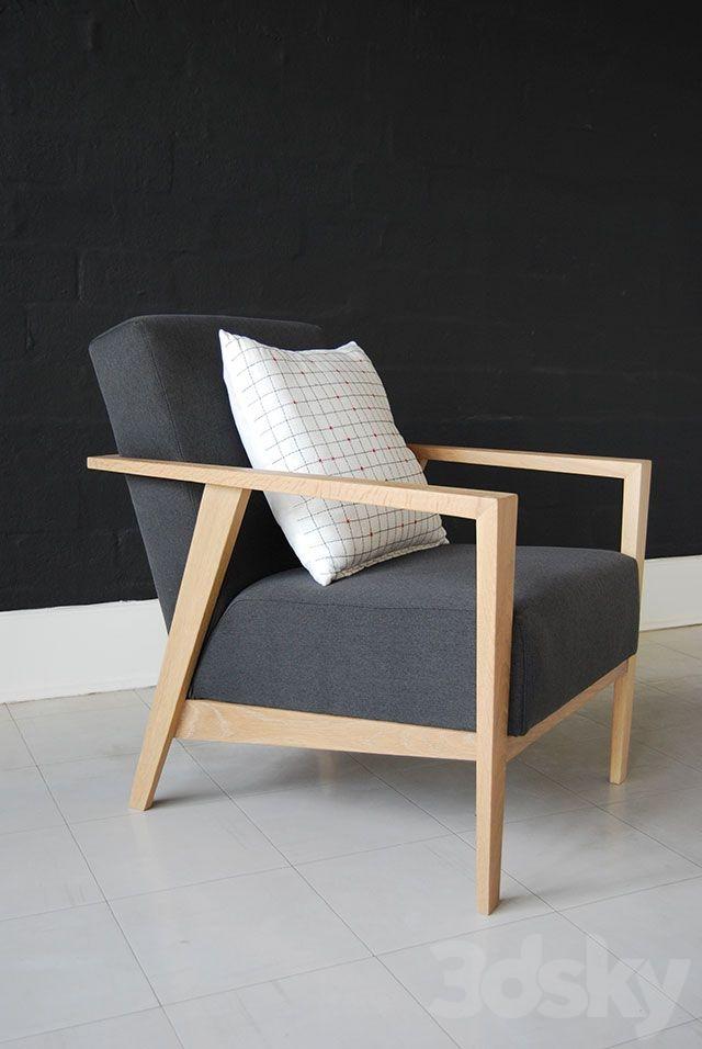 3d Models: Arm Chair