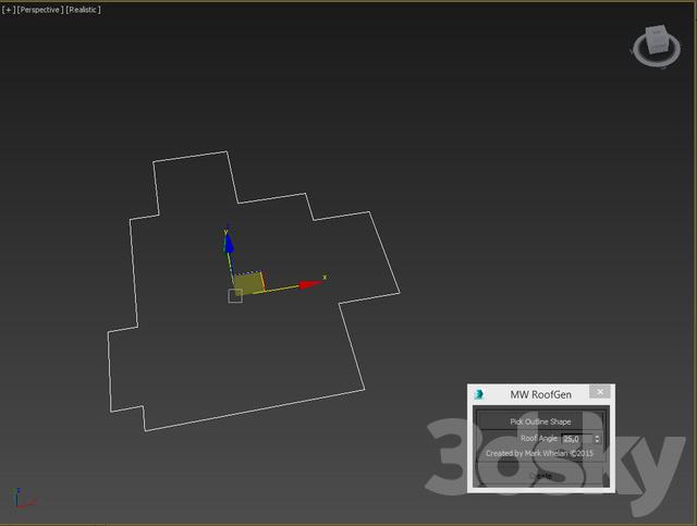 3d models: Scripts - MW_RoofGen_v1_2