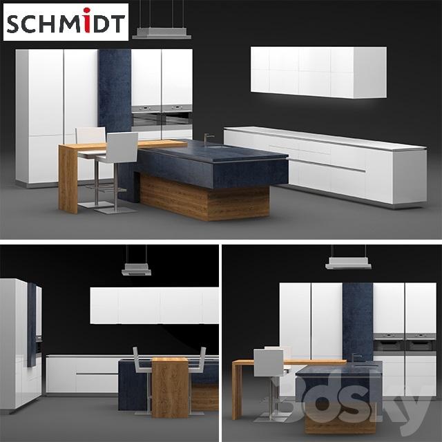 3d models kitchen kitchen schmidt arcos eolis - Schmidt kitchens ...