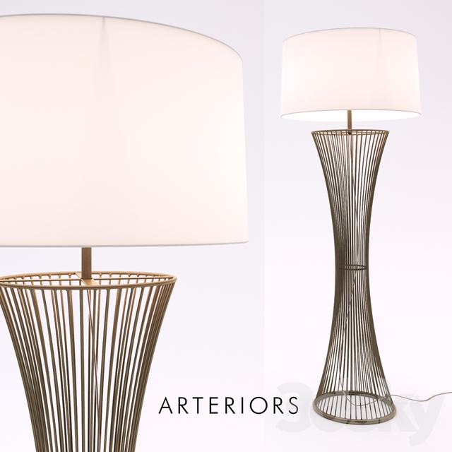 3d models floor lamp arteriors camille floor lamp arteriors camille floor lamp aloadofball Images