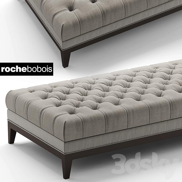 3d models other soft seating pouf pouf fauteuil epoq roche bobois - Banquette roche bobois ...