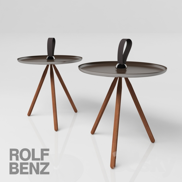3d models table coffee table rolf benz 973. Black Bedroom Furniture Sets. Home Design Ideas