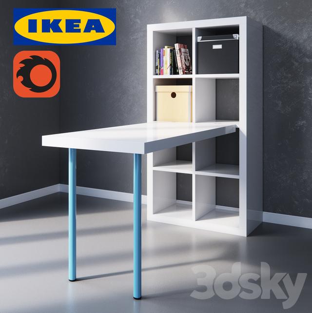 3d Models Table Kallax
