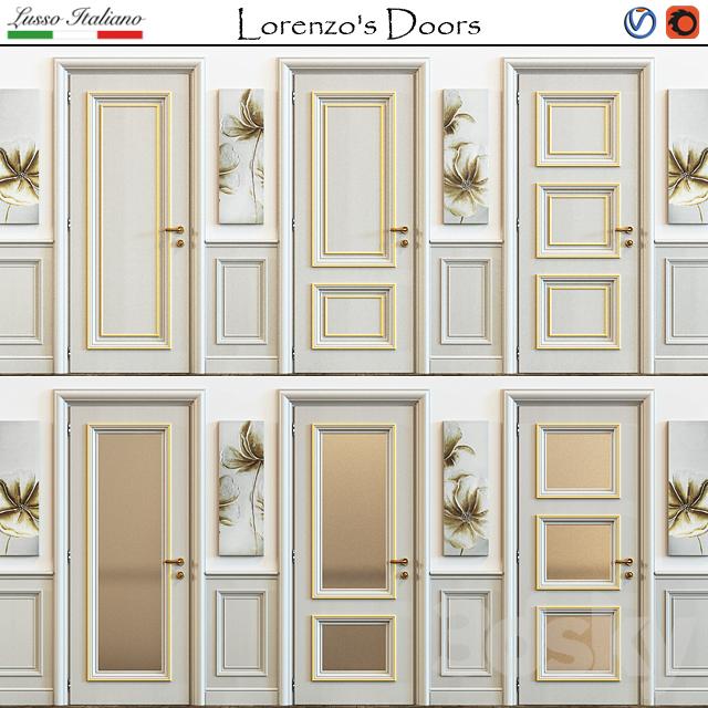 3d models doors new design porte lorenzo 39 s doors for New design porte