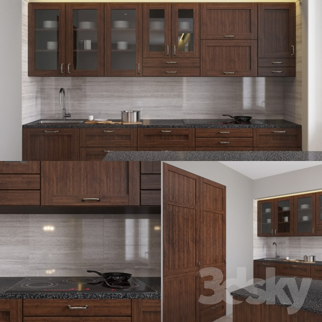 3d models kitchen edserum kitchen for Model kitchen set 2016