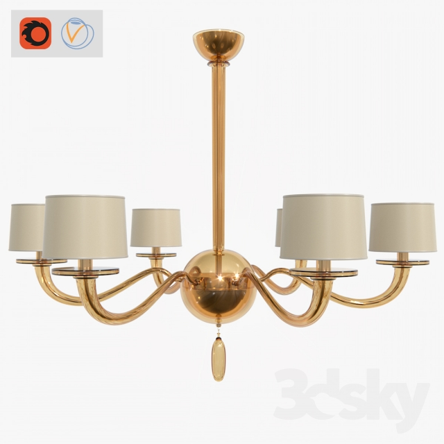 Models Ceiling Light Baker Furniture Signature