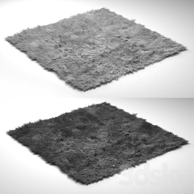 3d models: Carpets - Puffy Rug
