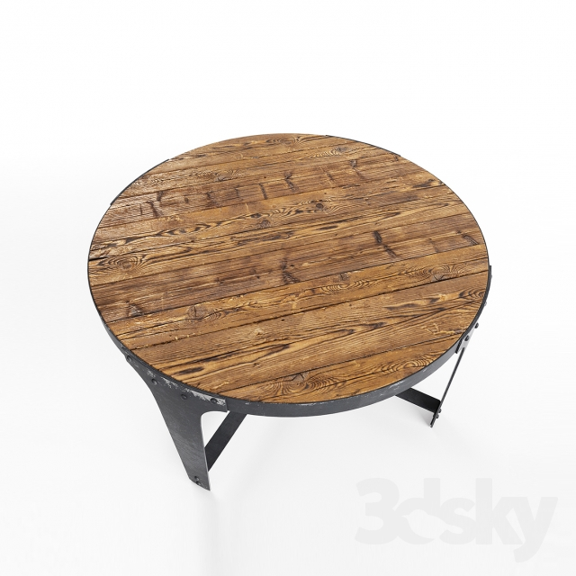 3d Models Table Loft Coffee Table 01