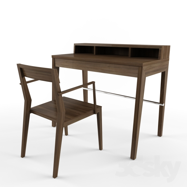 3d models Table Chair MINT Writing Desk PACTUS