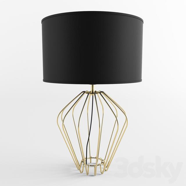 3d models table lamp eclectic s1042 aromas del campo. Black Bedroom Furniture Sets. Home Design Ideas