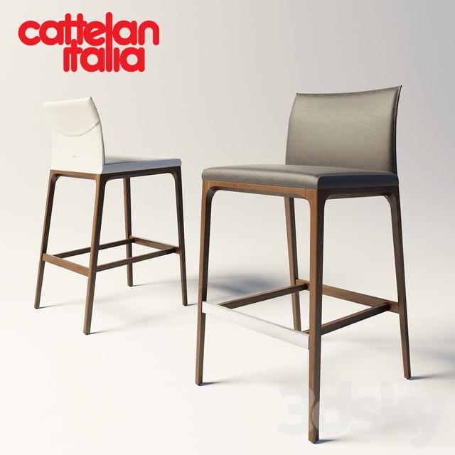3d Models Chair Cattelan Italia Arcadia