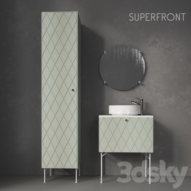3d Models Bathroom Furniture Wash Superfront Harlequin