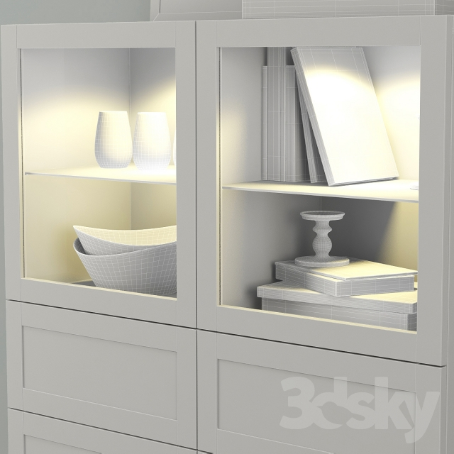 3d models wardrobe display cabinets wardrobe showcase. Black Bedroom Furniture Sets. Home Design Ideas