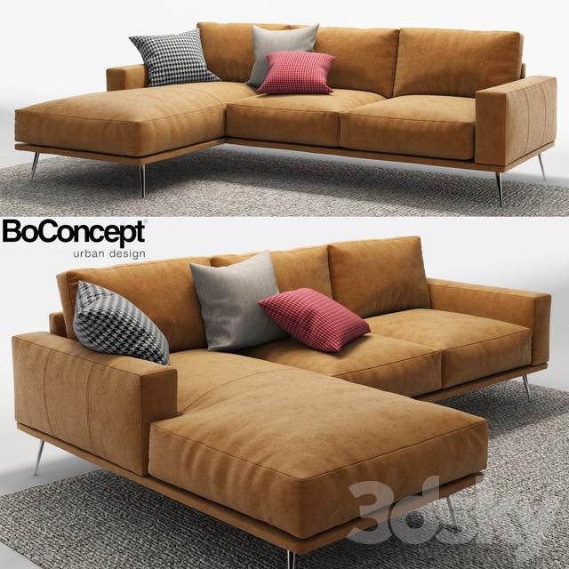 3d Models Sofa Corner Sofa Boconcept