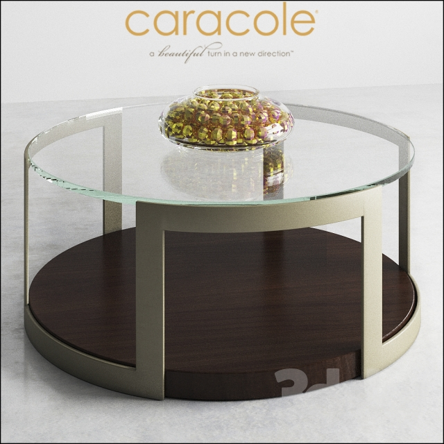 Kinsella Coffee Table: CARACOLE Up, Down And All Around ATS