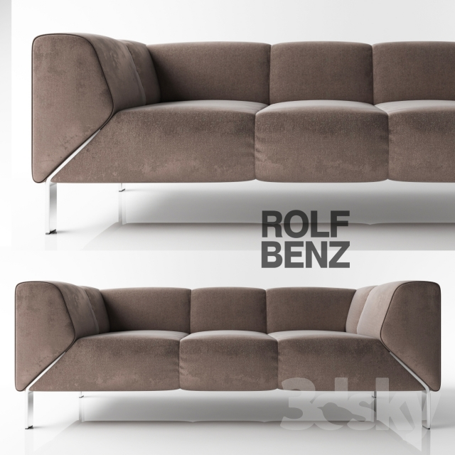 3d models sofa sofa rolf benz 323. Black Bedroom Furniture Sets. Home Design Ideas