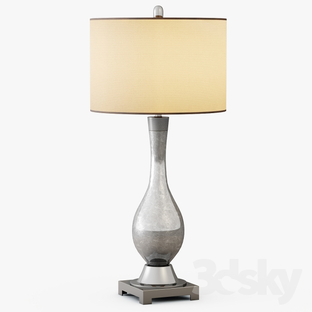 3d models table lamp mercury glass table lamp. Black Bedroom Furniture Sets. Home Design Ideas