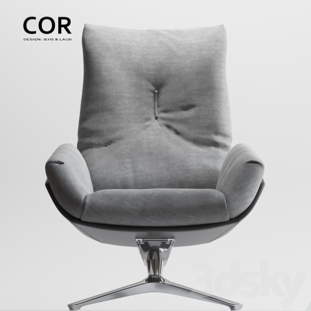 3d Models Arm Chair Cor Cordia Lounge