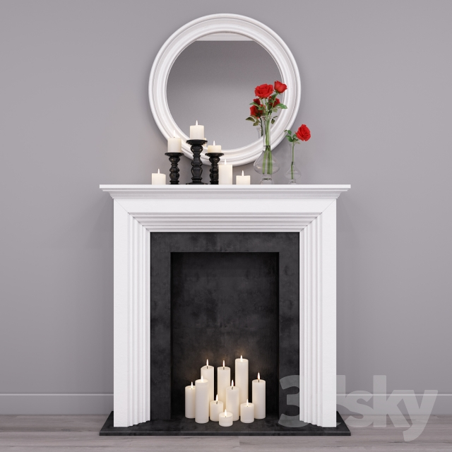 Decorative fireplace 3