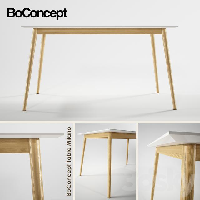 3d models table boconcept milano - Tafel boconcept ...