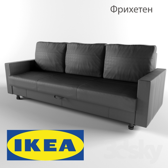 3d models sofa friheten sofa bed ikea. Black Bedroom Furniture Sets. Home Design Ideas