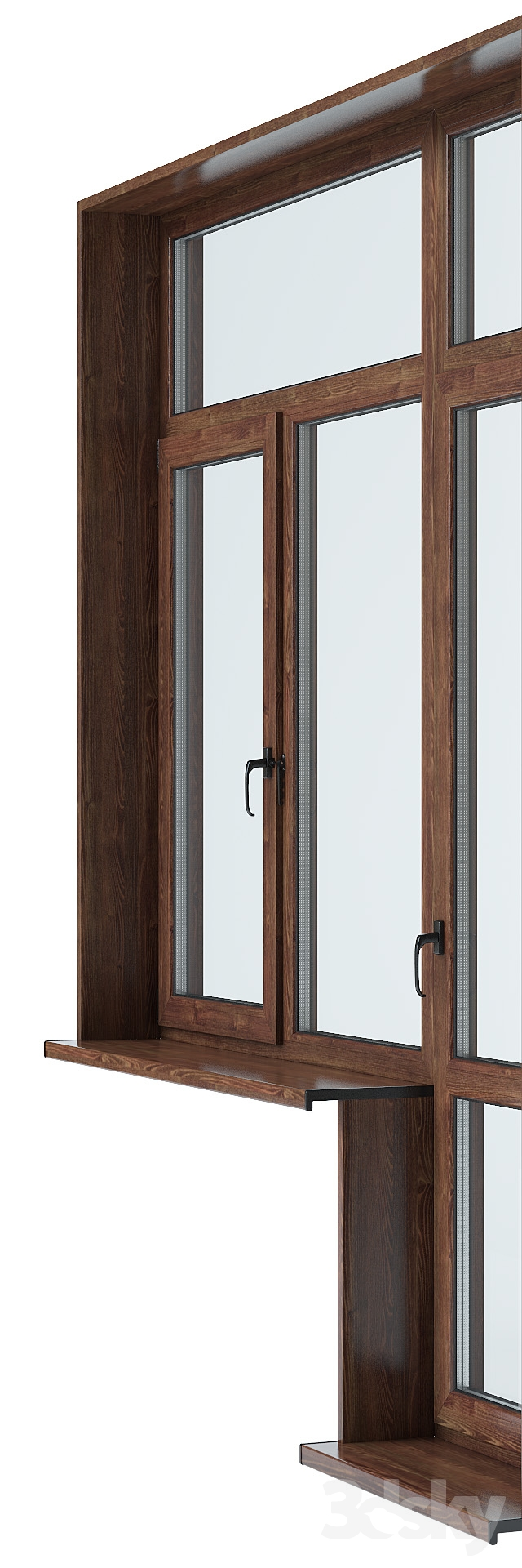 3d models windows 2 0 balcony door for Balcony models