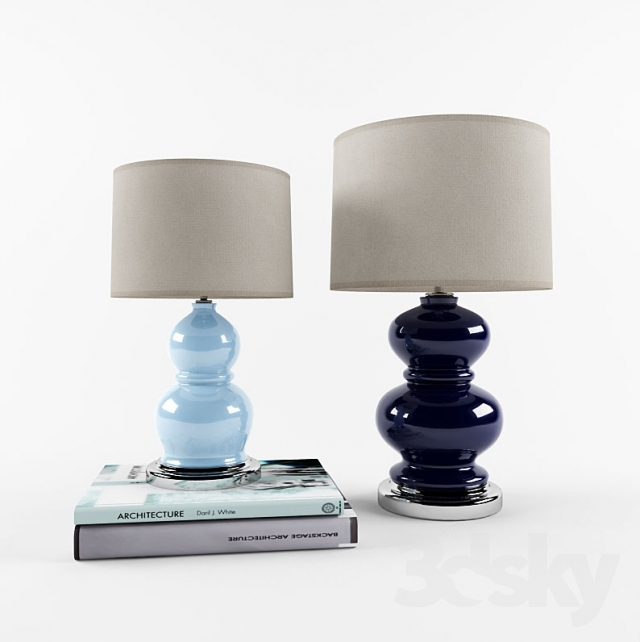 Pottery Barn Alexis Lamp: Table Lamps Pottery Barn