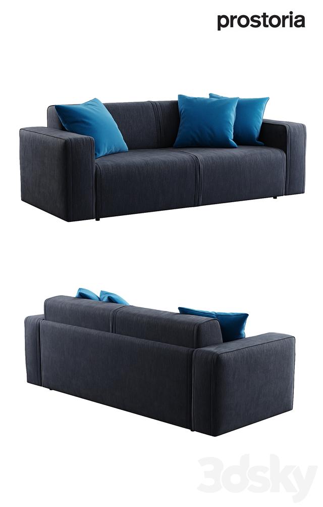 3d models sofa prostoria ltd nimble upholstered sofa bed for Sofa bed 3d model