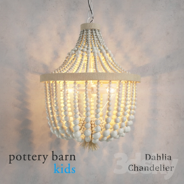 Pottery Barn Carriage Lamp: Pottery Barn Kids Dahlia Chandelier