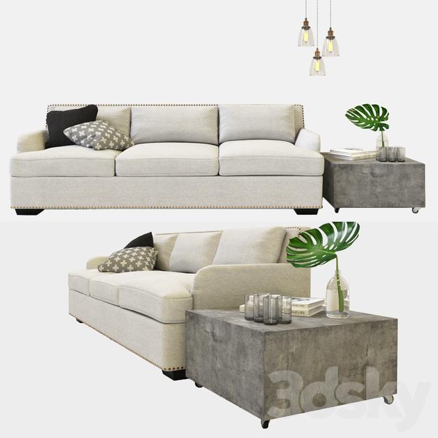 3d models sofa furniture set 01 for D furniture galleries closing