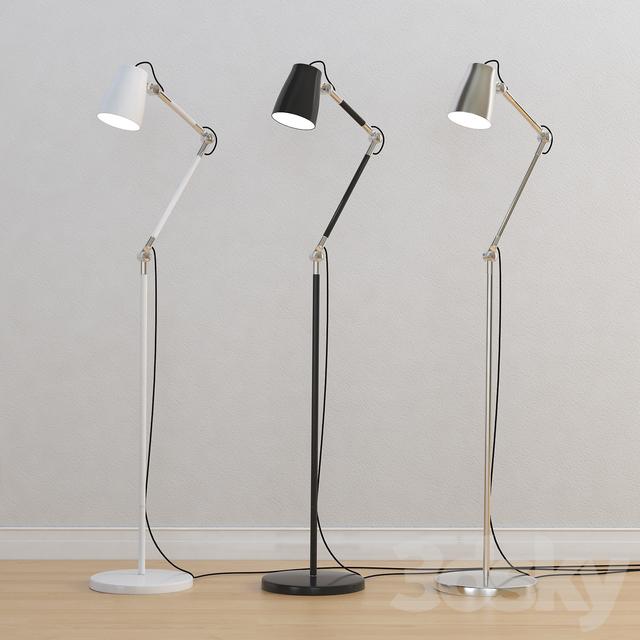 3d models: Floor lamp - Astro Atelier Floor lamp