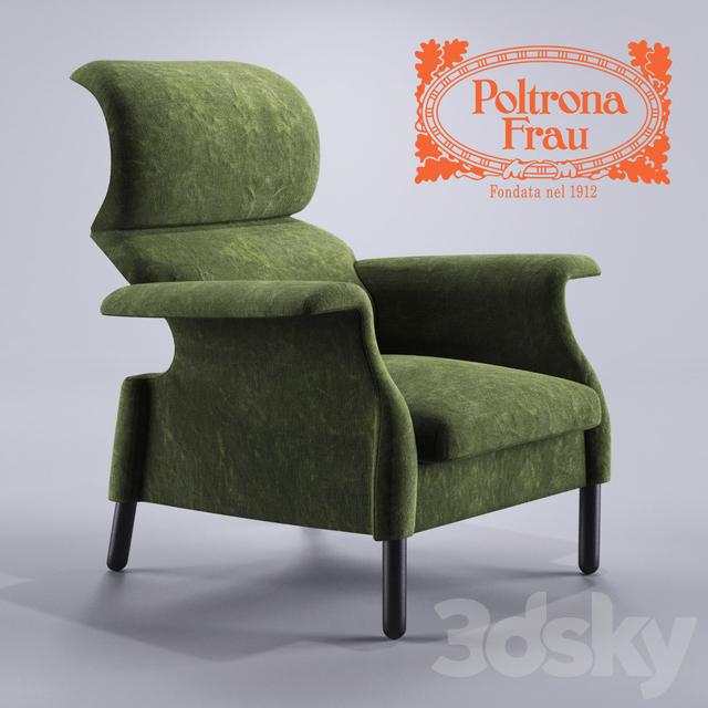3d Models Arm Chair Poltrona Frau Sanluca Armchair