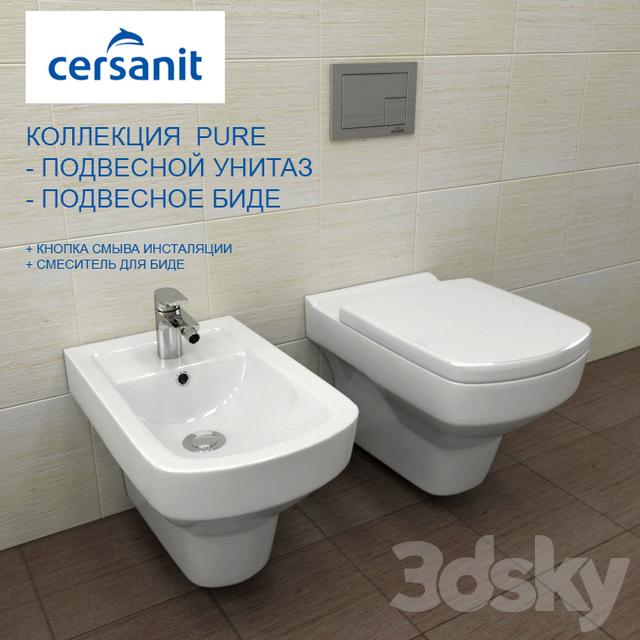 Toilet + BIDET PURE. SUSPENDED