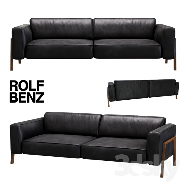 3d models sofa sofa rolf benz bacio. Black Bedroom Furniture Sets. Home Design Ideas