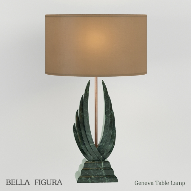 3d models table lamp table lamp bella figura geneva for Bella figura lamps