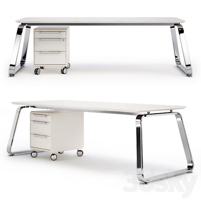 Desk Las 70 S Scrivanie