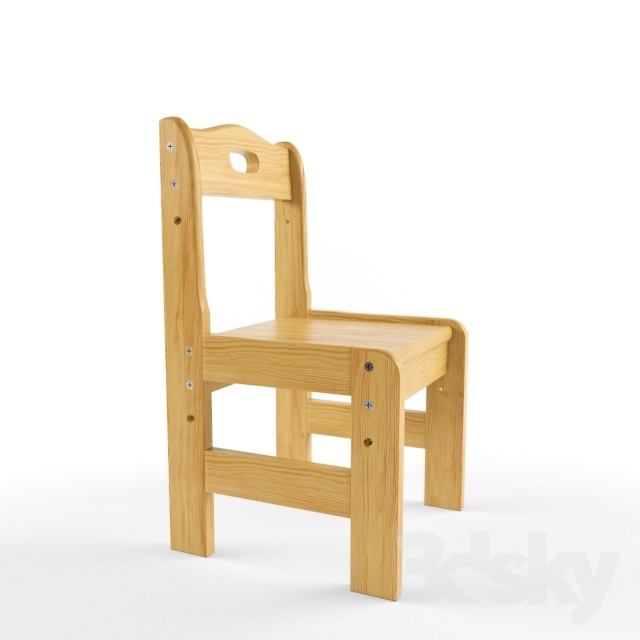 Chair array of children's adjustment