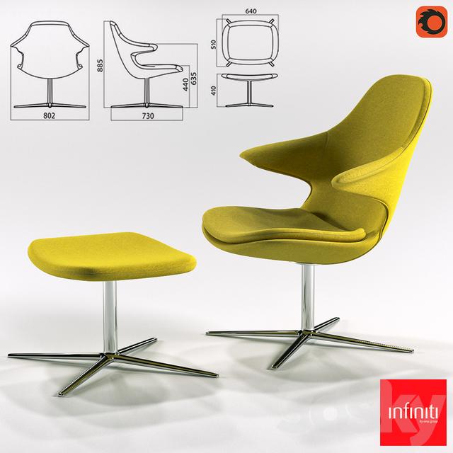 Phenomenal 3D Models Arm Chair Infiniti Loop Lounge Low Amp Loop Customarchery Wood Chair Design Ideas Customarcherynet