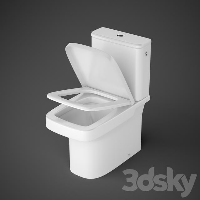 3d models toilet and bidet wc roca dama n - Wc model ...