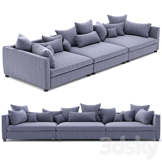 Bolia Sofa 3d models sofa bolia mr big sofa