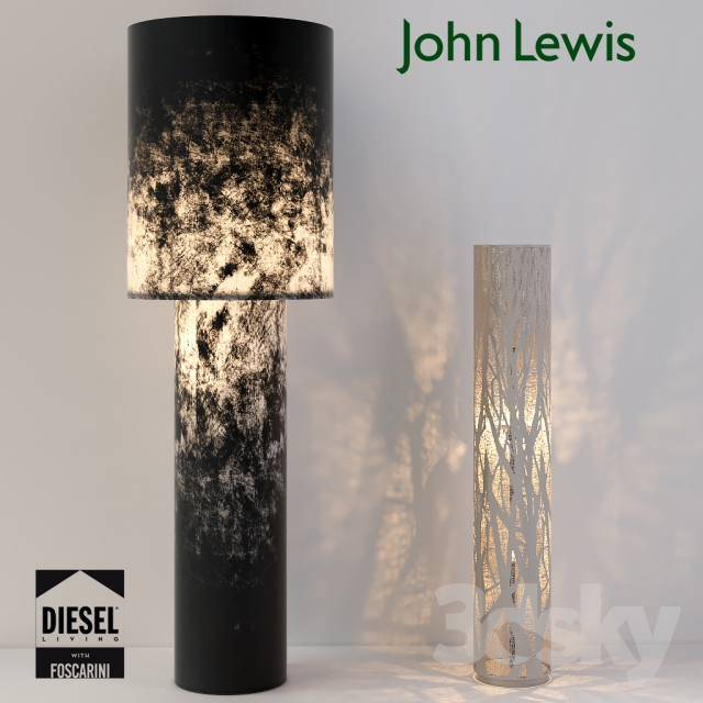 3d models floor lamp designer floor lamps diesel and john lewis designer floor lamps diesel and john lewis mozeypictures Gallery